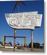 Ranch House Cafe Metal Print