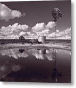 Ranch Pond New Mexico Metal Print