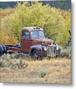 Ranch Truck II Metal Print