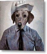 Rancher Dog Metal Print