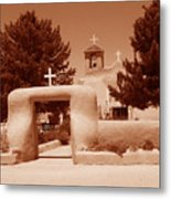 Ranchos De Taos Church   New Mexico Metal Print
