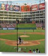 Rangers Ballpark In Arlington Metal Print