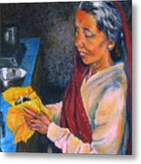 Rani The Cook Metal Print
