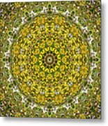 Rapeseed And Apples Metal Print