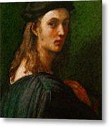 Raphael Portrait Of Bindo Altoviti Metal Print