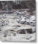 Rapids At Bull's Bridge 1 Metal Print