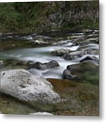 Rapids On The Washougal River Metal Print
