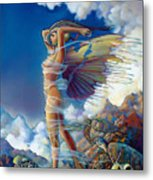Rapture And The Ecstasea Metal Print