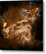 Rare Spotted Deer Metal Print