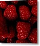 Raspberries Metal Print