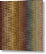 Raspberry Tonal Tapestry Metal Print