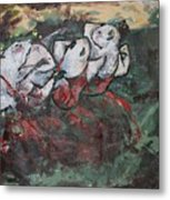 Rat Dancers Metal Print