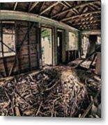 Rat Nest, Real Estate Series Metal Print