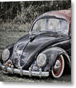 Rat Rod Beetle Metal Print