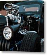 Rat Rod Coupe Metal Print
