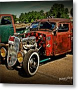 Rat Rod For Sale Metal Print