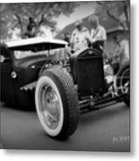 Rat Rod Looker Metal Print