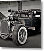Rat Rod Scene 3 Metal Print
