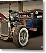 Rat Rod Scene Metal Print