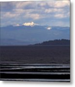 Rathtrevor Beach On Vancouver Island In British Columbia Metal Print