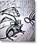 Rato De Fino Trato Metal Print