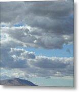 Rattlesnake Mountain Cloudscape Metal Print