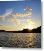 Raumanmeri Sunset Metal Print