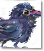 Raven 3 Metal Print
