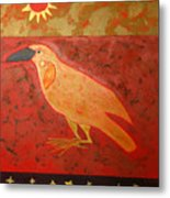Raven Steals The Light Metal Print