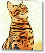 Ravi Series #9 Metal Print
