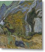 Ravine With A Small Stream Saint Remyde Provence  October 1889 Vincent Van Gogh 1853  1890 Metal Print