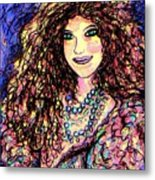 Ravishing Beauty Metal Print