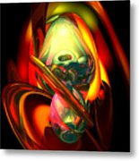 Raw Fury Abstract Metal Print