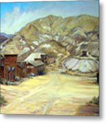 Rawhide Nevada Metal Print by Evelyne Boynton Grierson