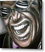 Ray Charles Metal Print by Zach Zwagil