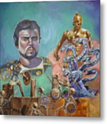 Ray Harryhausen Tribute Jason And The Argonauts Metal Print
