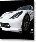 Ray Of Light - Corvette Stingray Metal Print