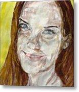 Rayah Newman, Portrait Metal Print