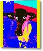 Ray's Cow Metal Print