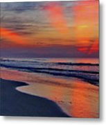 Rays From Heaven Metal Print
