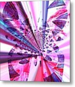 Rays Of Butterfly Metal Print