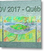 Rdv 2017 Quebec Mug Shot Metal Print