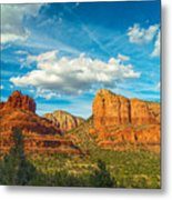 Reach Up And Touch The Sky Metal Print