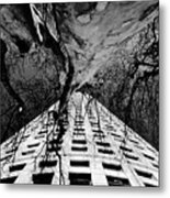 Reaching Up Metal Print