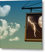 Read The Signs Metal Print