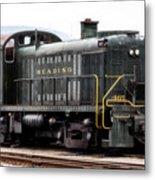 Reading Rr Engine 467 Metal Print