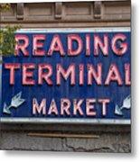 Reading Terminal Market Metal Print