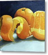 Ready For Oranges Metal Print
