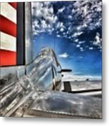 Ready For Take Off Metal Print