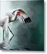 Ready Or Not, Here I Come... Metal Print
